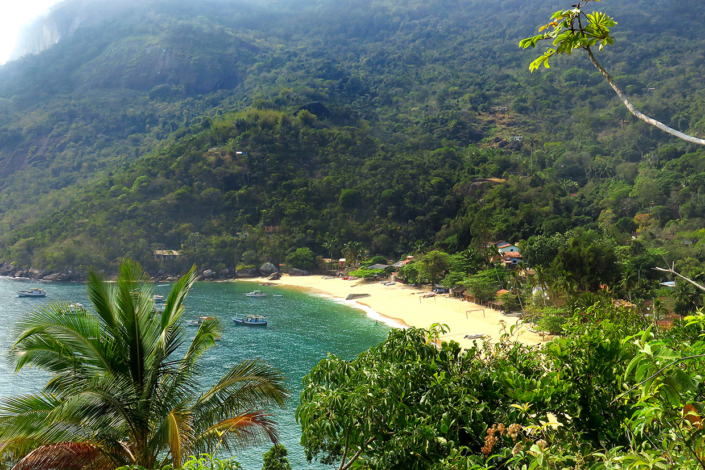 Baie Ilha Grande Rio Brésil voyage