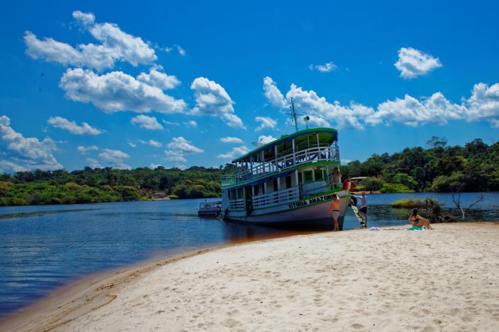 Bateau régional Amazonie Brésil voyage