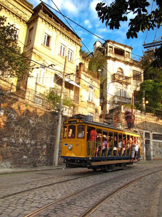Bondinho Rio de Janeiro Brésil voyage