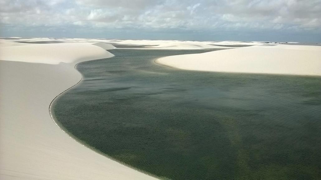 Canto Atins Lago Cacairas Brésil voyage