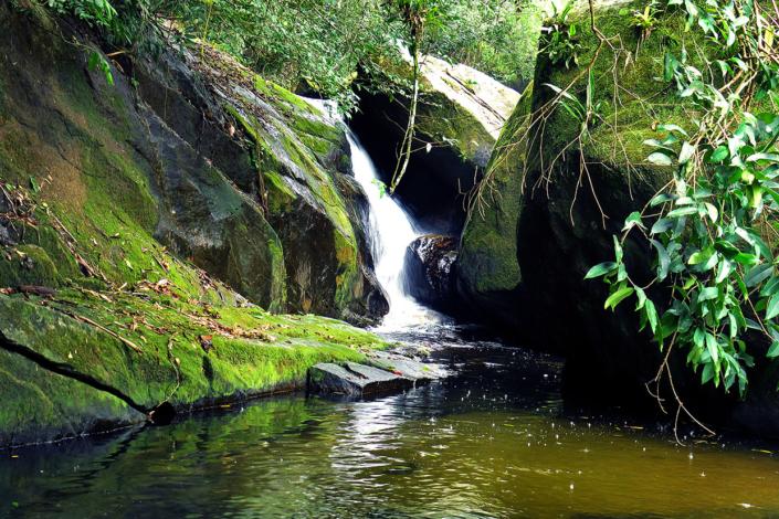 Cascade Ilha Grande Rio Brésil voyage