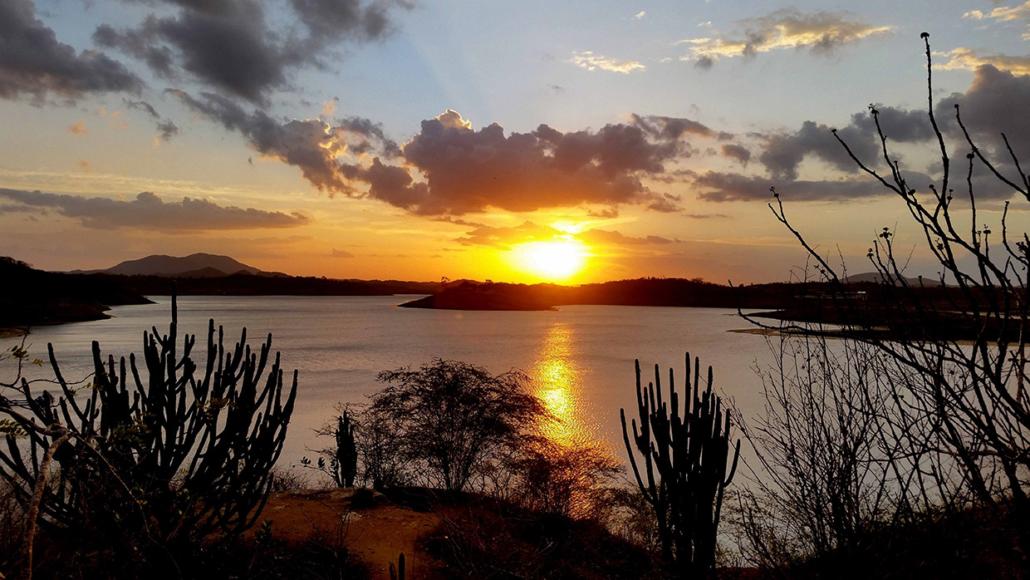 Coucher soleil Delta du Parnaiba Brésil voyage