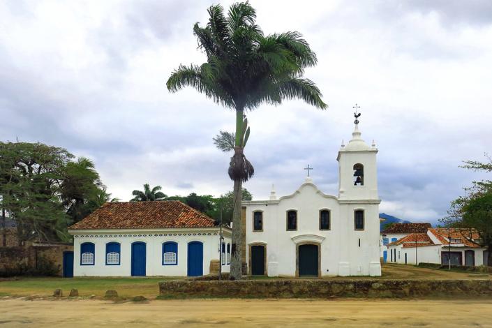 Eglise Paraty Rio Brésil voyage