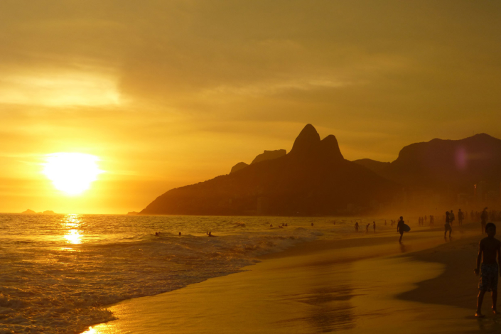 Ipanema beach Rio de Janeiro Brésil voyage