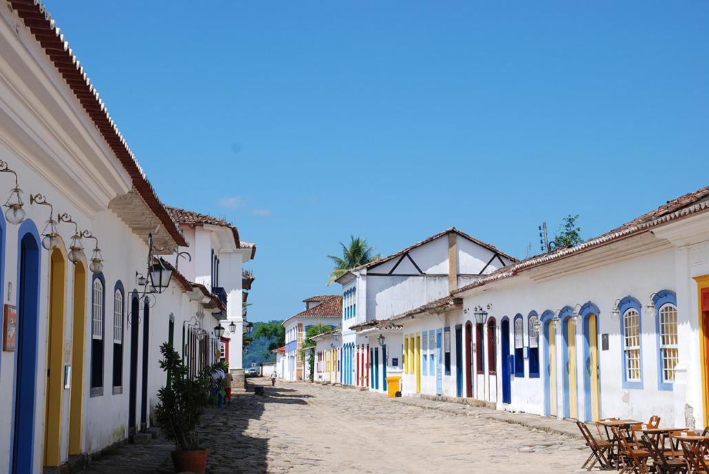 Maisons Paraty Rio Brésil voyage