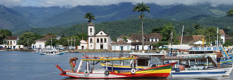 Paraty Rio Brésil voyage