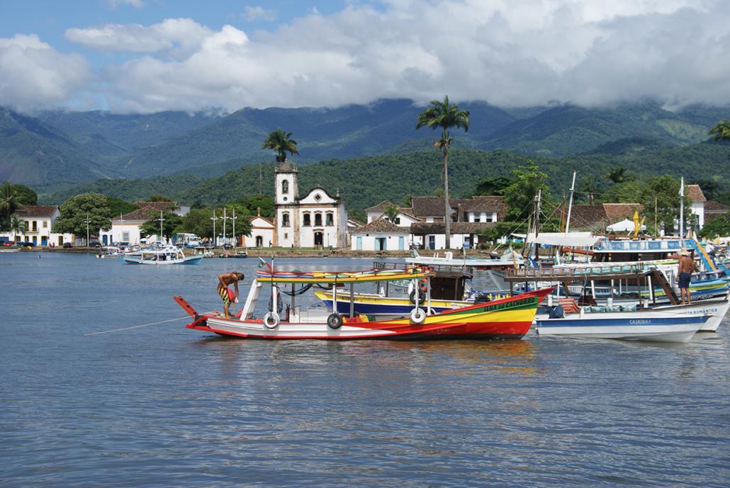 Port Paraty Rio Brésil voyage