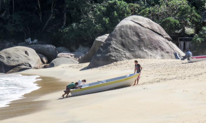 Ponta Negra BAchir SAREH Costa Verde Rio Brésil voyage