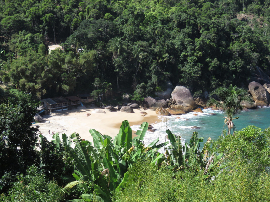 Ponta negra Costa Verde Rio Brésil voyage