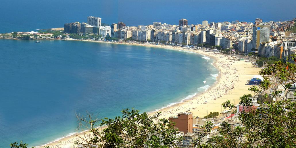baie Rio de Janeiro Brésil voyage