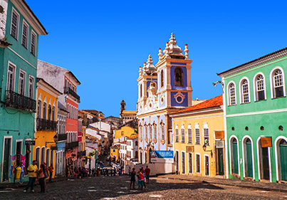 Salvador Bahia Brésil voyage