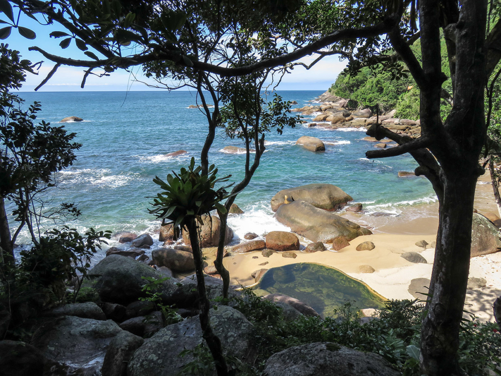 Trek1 Bachir SAreh Paraty Rio Brésil voyage