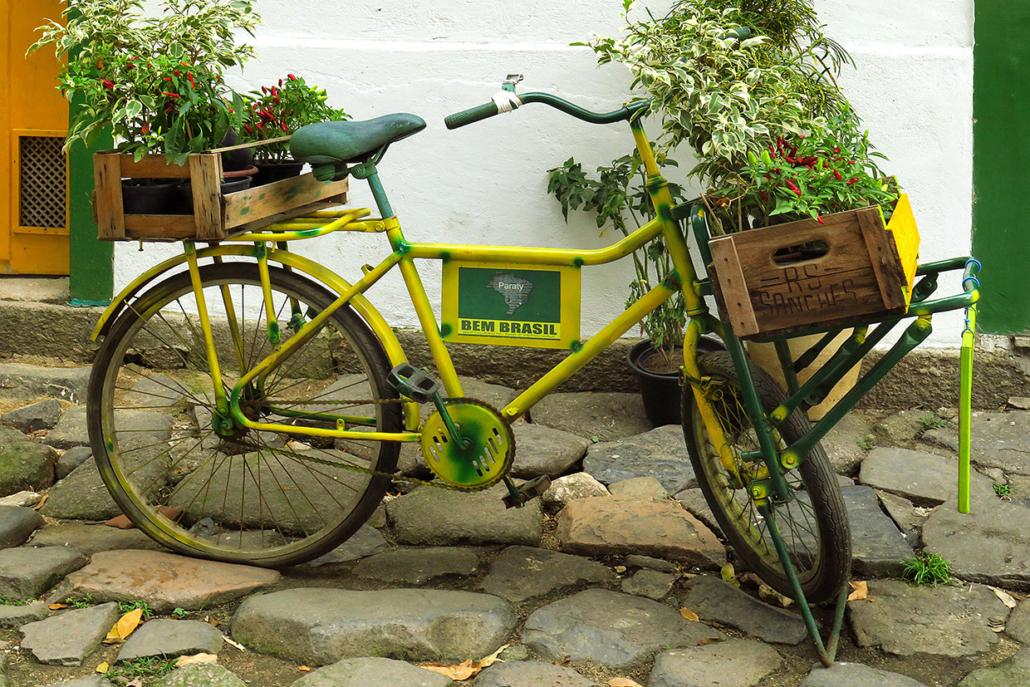 Vélo Paraty Rio Brésil voyage