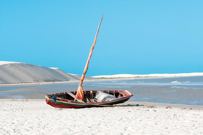 bateau Jericoacoara Brésil voyage