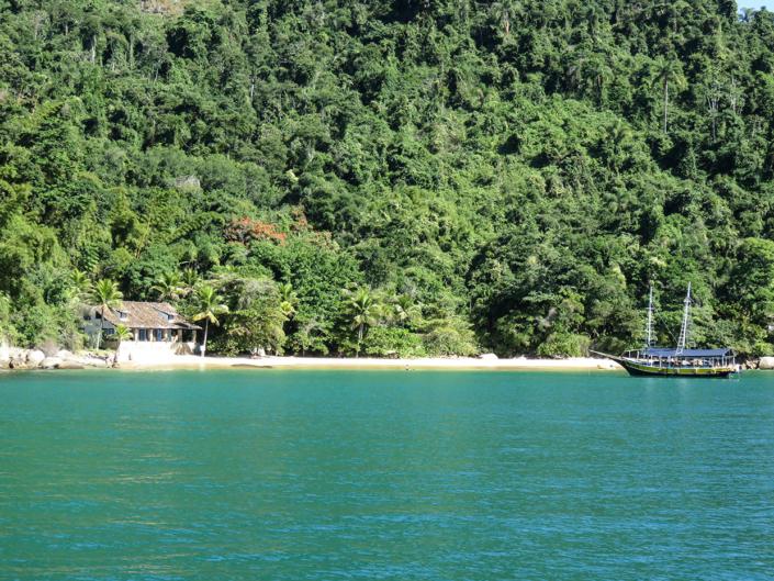 bateau Paraty Rio Brésil voyage
