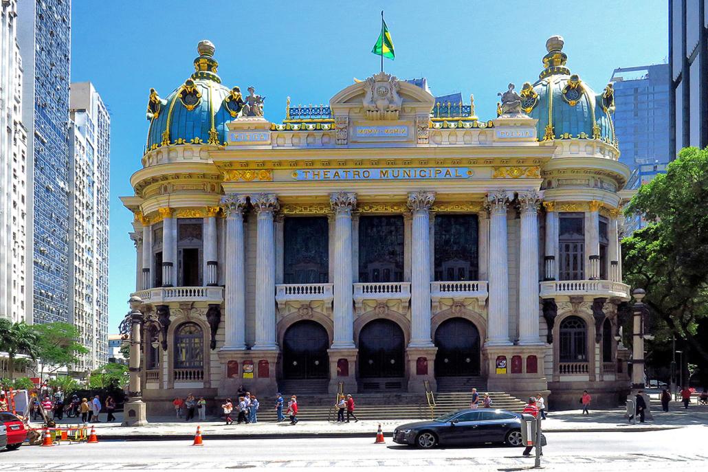palais Rio de Janeiro Brésil voyage