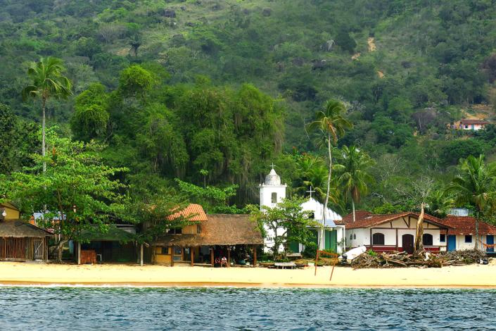 plage Paraty Rio Brésil voyage