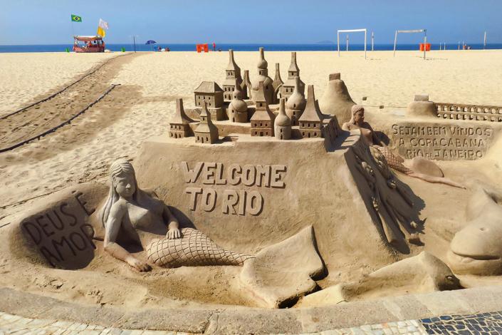 plage Rio de Janeiro Brésil voyage
